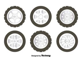 Alloy Wheels Collection Vector