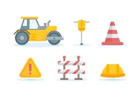Free Outstanding Road Construction Vectors