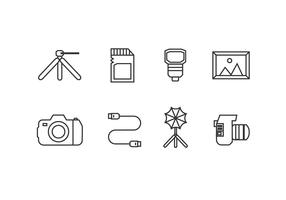 Photography tool icons