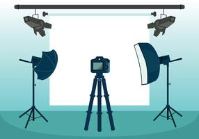 Photo Studio Vector Illustration