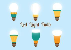 Led Lights Bulbs Vector Pack
