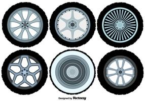 Vector Alloy Wheels Set
