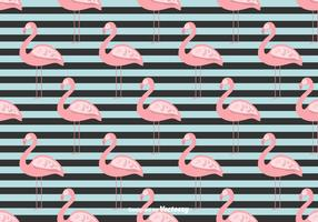 Summer Flamingo Vector Background