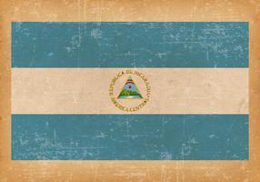 Grunge Flag of New Nicaragua