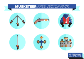 Musketeer Free Vector Pack