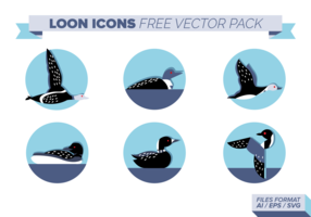 Loon Icons Free Vector Pack