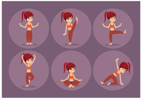 Free Female Personal Trainer Vector