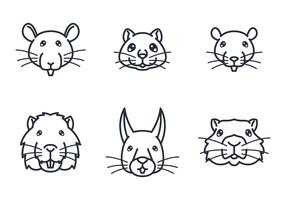 Rodent Face Icon
