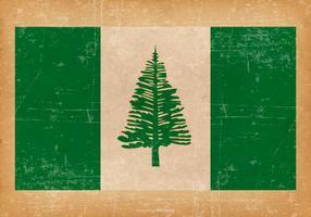 Grunge Flag of Norfolk Island