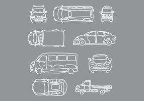 Car and Vehicle Vectors