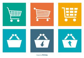 Shopping Carts Icon Collection