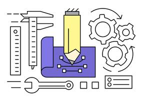 Free Engineering Vector Collection