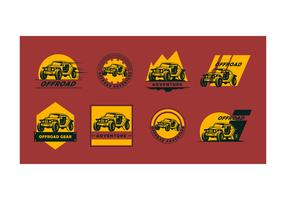 Free Offroad Logo Vector Collection