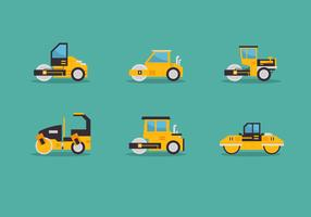 Steamroller Vector Icon Pack