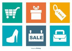 Shopping Icon Sammlung