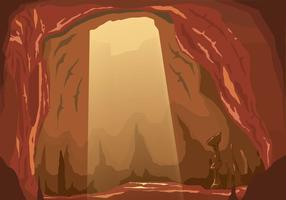 Inside Cavern Vector