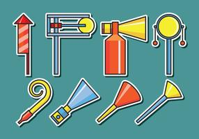 Noise Maker Vector Icons