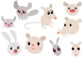 Free Cute Rodents Vectors