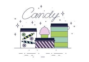 Free Candy Vector