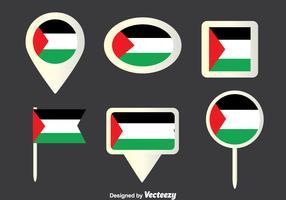Gaza Strip Collection Vector