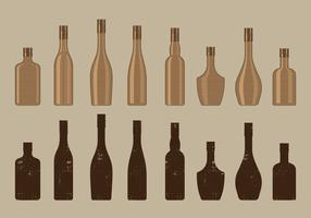 Vintage Wine Bottle Collection