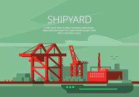Shipyard Illustration