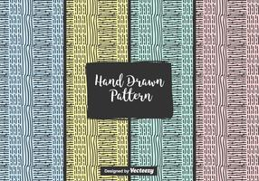 Abstract Hand Drawn Vector Pattern