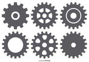 Vector Gear Shapes Collection