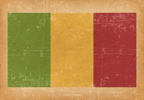 Grunge Flag of Mali