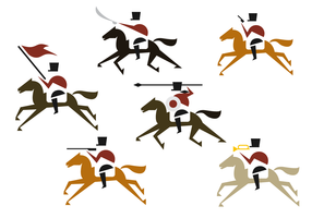 Cavalry Illustration Vector