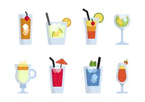 Flat Mocktail Vectors