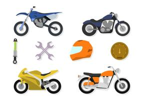 Flat Motor cross Vectors