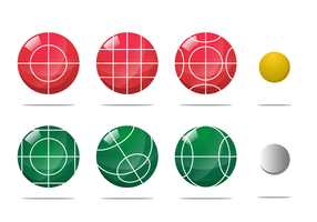 Bocce Ball Vector