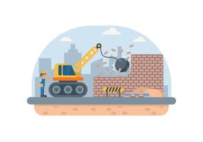 Free Construction Demolition Illustration