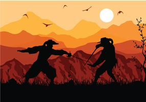 Musketeers Fight Free Vector