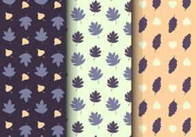 Free Leaf Floral Pattern