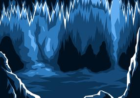 Ice Cavern Free Vector