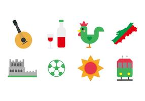Free Portugal Icons Vector