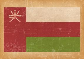 Grunge Flag of Oman