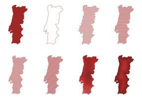 Portugal Modern Map