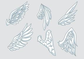 Angel Wings Vector Icons