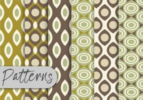 Olive Green Pattern Set