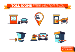 Toll Icons Free Vector