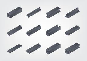 Isometric girder Collection