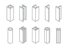 Girder Line Icons