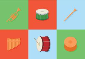 Band Equipment Free Vector