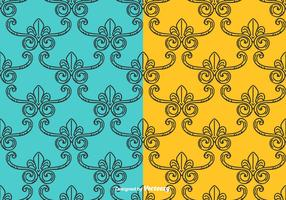 Vintage Vector Pattern Set