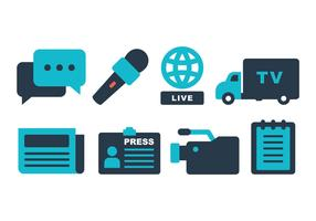 Journalist Icon Pack
