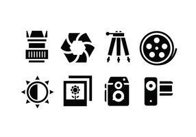 Camera accessory icons