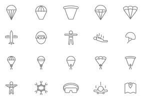 Free Skydiving Vectors